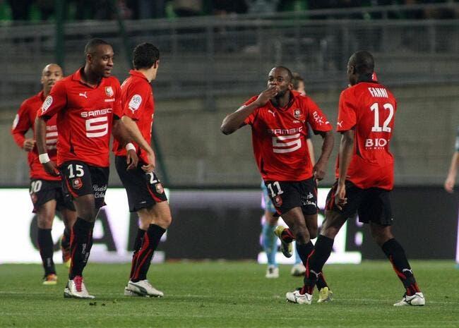 Rennes retrouve la marche avant