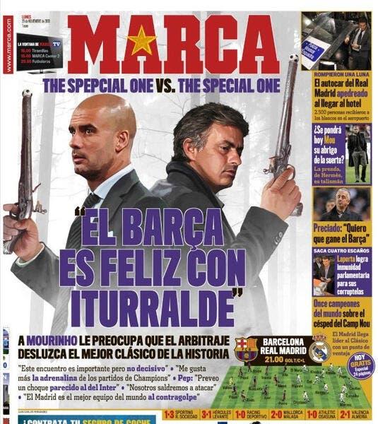 Special One contre Spepcial One pour la presse espagnole