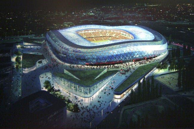 Photo : Le futur Olympic Nice Stadium