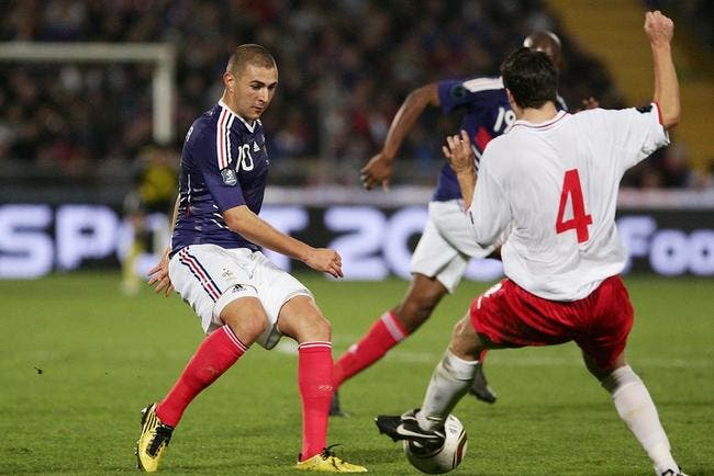 Benzema boude après France-Luxembourg