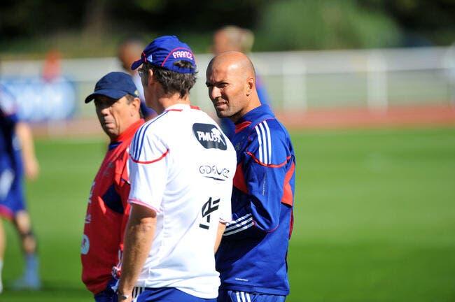 Blanc : « Si Zidane a envie »