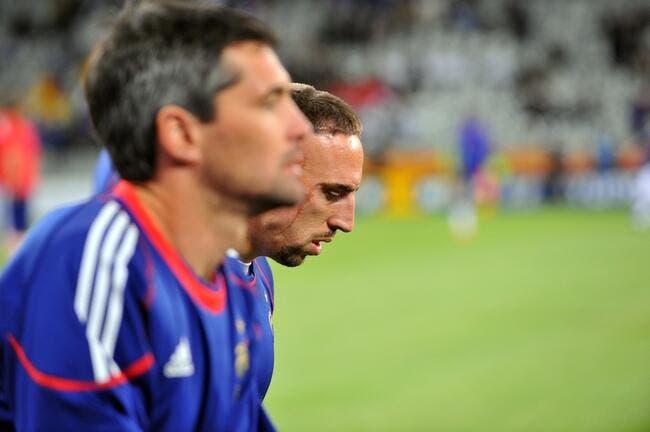 Ribéry, Evra, Toulalan et Abidal ont manqué le train bleu