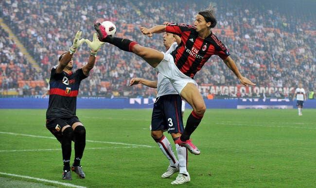 Photo : Ibrahimovic vole encore haut