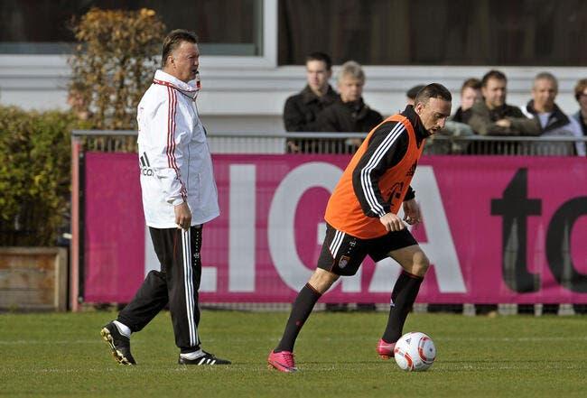 Ribéry, Van Gaal n'est pas son problème