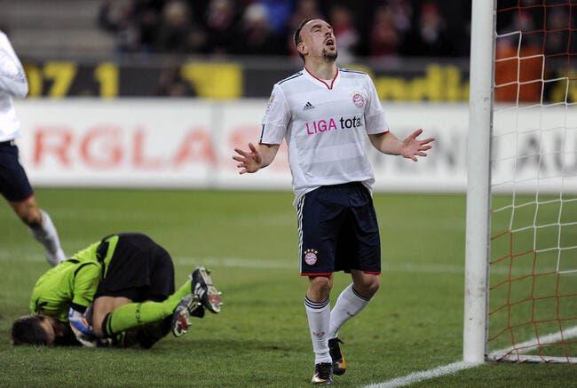 Le Bayern craque malgré Ribéry