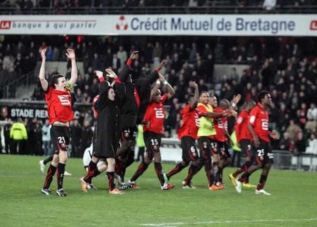 Rennes prend la tête sans prise de tête
