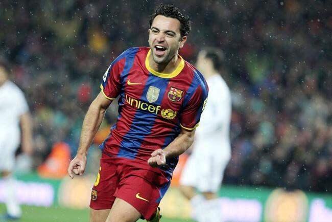 Xavi entre dans l'Histoire du Barça