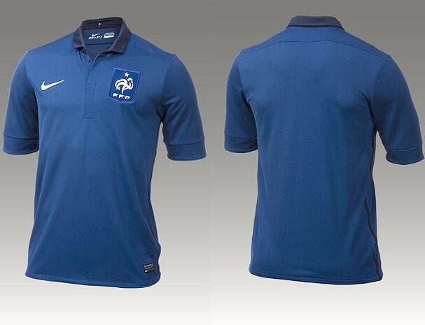 Nike dévoile le nouveau maillot des Bleus