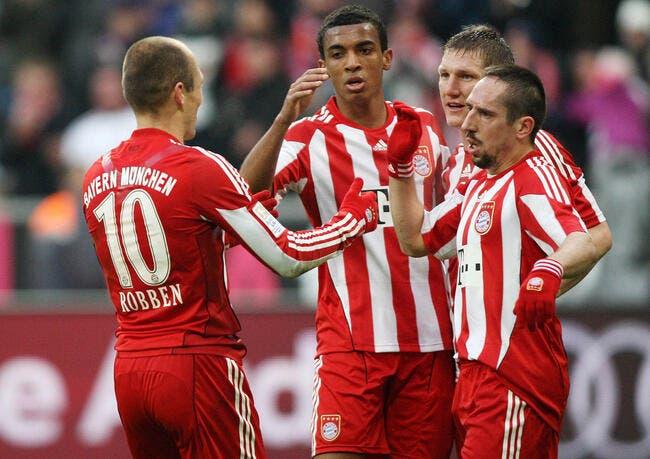 Le Bayern et Robben en ballade, Dortmund grimace
