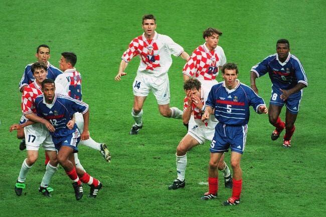 Equipe de france bilic rejette la faute sur blanc pour la coupe du monde 1998 foot 01 - Coupe du monde 1998 chanson ...