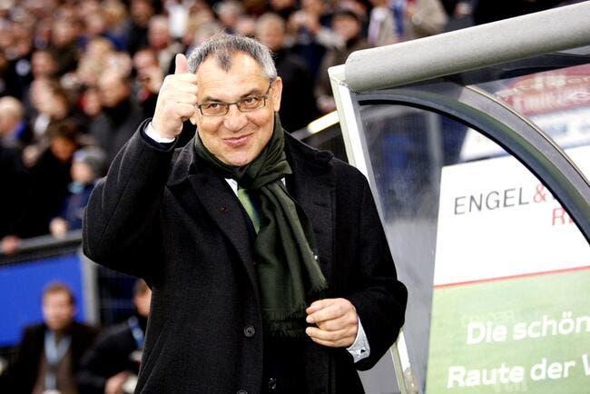 Magath rebondit (déjà) à Wolfsburg