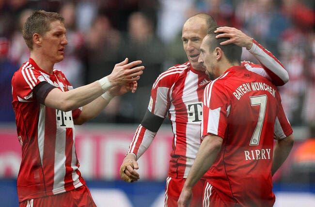 Ribéry sauveur du Bayern