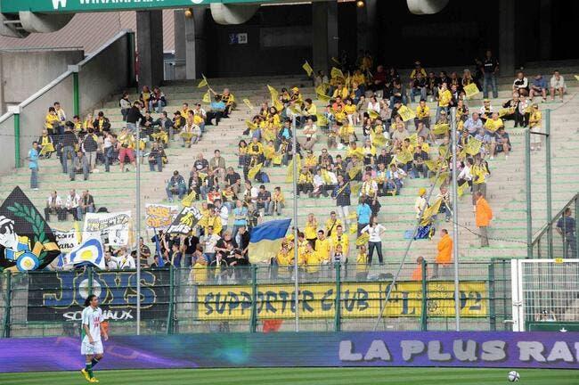 Des supporters sochaliens jouent les sauvages à Auxerre