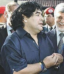 Maradona livre sa première liste