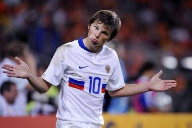 Rus : Arshavin n'a «jamais peur»