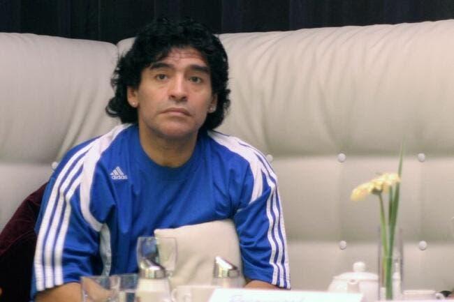 Maradona se voit entraîneur de l'Argentine