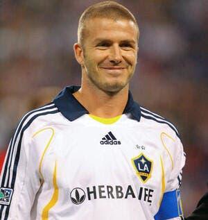 Beckham débarque à Milan