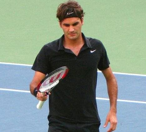 Le cœur de Federer balance