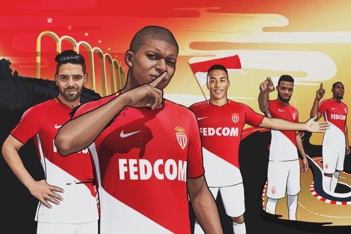 Monaco : Le maillot 2017-2018 dévoilé