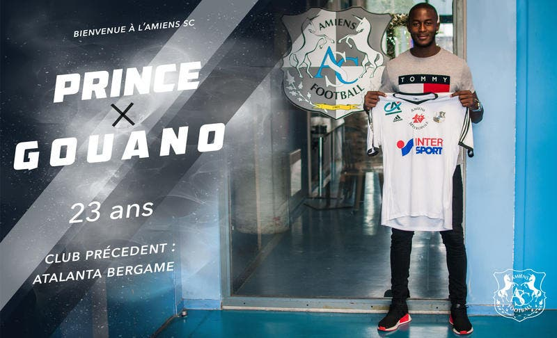 Officiel: Gouano à Amiens pour quatre ans
