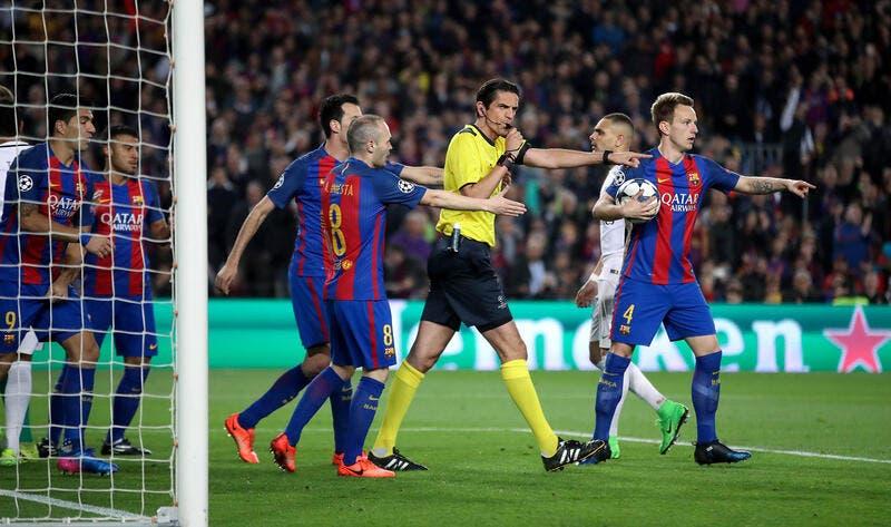 Barça-PSG: L'UEFA en a terminé avec l'arbitre maudit