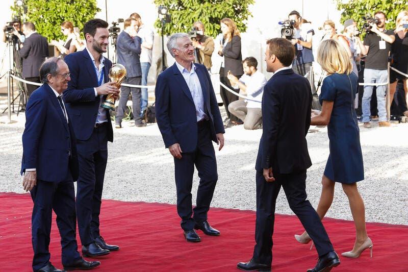 L1: An am leschte Moment rifft Macron Deschamps ...