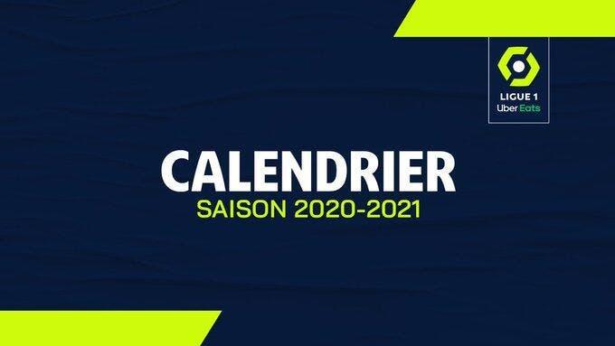 Calendrier Ol 2021 Football Ligue 1   L1 : PSG, OL, OM… La LFP sort le calendrier de
