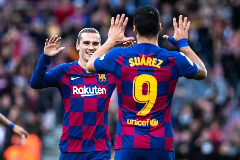 Barça: De Griezmann gouf net vum Messi a Suarez schwaarzt